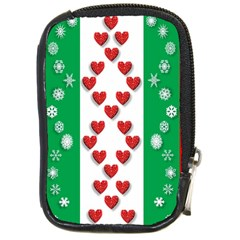 Christmas Snowflakes Christmas Trees Compact Camera Cases
