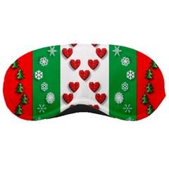 Christmas Snowflakes Christmas Trees Sleeping Masks