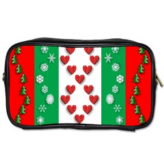 Christmas Snowflakes Christmas Trees Toiletries Bags