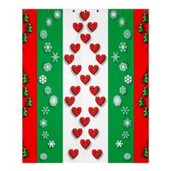 Christmas Snowflakes Christmas Trees Shower Curtain 60  X 72  (medium)