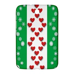 Christmas Snowflakes Christmas Trees Samsung Galaxy Note 8.0 N5100 Hardshell Case