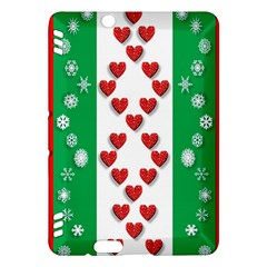 Christmas Snowflakes Christmas Trees Kindle Fire HDX Hardshell Case