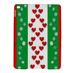 Christmas Snowflakes Christmas Trees iPad Air 2 Hardshell Cases