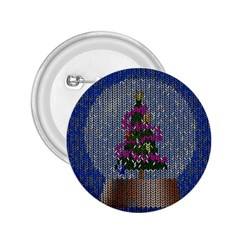 Christmas Snow 2.25  Buttons