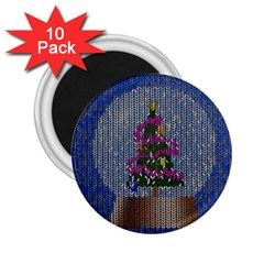 Christmas Snow 2.25  Magnets (10 pack)