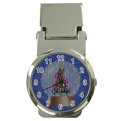 Christmas Snow Money Clip Watches