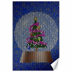 Christmas Snow Canvas 24  x 36