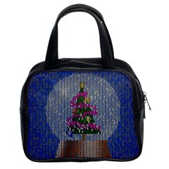 Christmas Snow Classic Handbags (2 Sides)