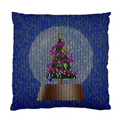 Christmas Snow Standard Cushion Case (Two Sides)