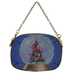 Christmas Snow Chain Purses (Two Sides)
