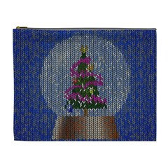 Christmas Snow Cosmetic Bag (xl)