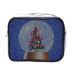 Christmas Snow Mini Toiletries Bags