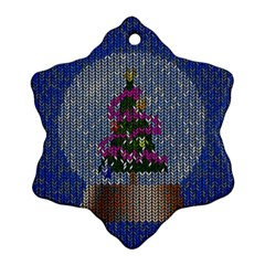 Christmas Snow Ornament (Snowflake)