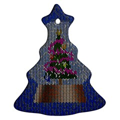 Christmas Snow Christmas Tree Ornament (Two Sides)