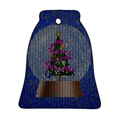 Christmas Snow Bell Ornament (Two Sides)