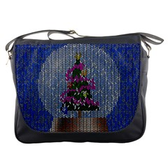Christmas Snow Messenger Bags