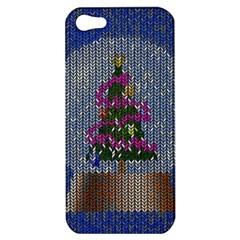 Christmas Snow Apple iPhone 5 Hardshell Case