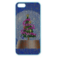 Christmas Snow Apple Seamless iPhone 5 Case (Color)