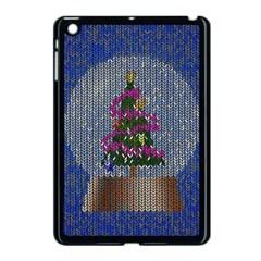 Christmas Snow Apple iPad Mini Case (Black)