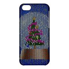 Christmas Snow Apple iPhone 5C Hardshell Case
