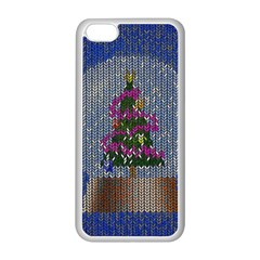 Christmas Snow Apple iPhone 5C Seamless Case (White)