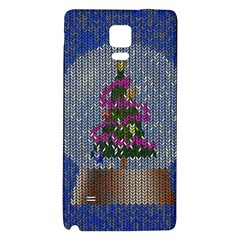 Christmas Snow Galaxy Note 4 Back Case