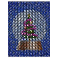 Christmas Snow Drawstring Bag (Large)