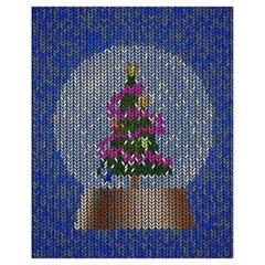 Christmas Snow Drawstring Bag (Small)