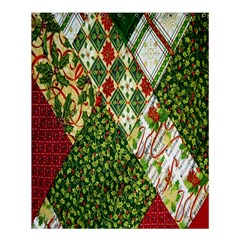 Christmas Quilt Background Shower Curtain 60  X 72  (medium)