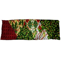 Christmas Quilt Background Body Pillow Case Dakimakura (Two Sides)