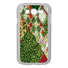 Christmas Quilt Background Samsung Galaxy Grand DUOS I9082 Case (White)
