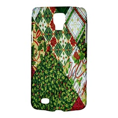 Christmas Quilt Background Galaxy S4 Active