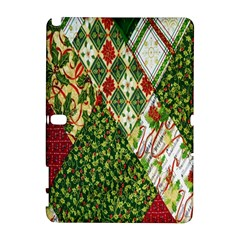 Christmas Quilt Background Galaxy Note 1