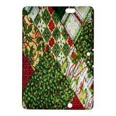 Christmas Quilt Background Kindle Fire Hdx 8 9  Hardshell Case