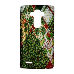Christmas Quilt Background LG G4 Hardshell Case