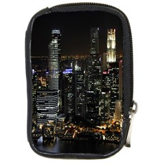 City At Night Lights Skyline Compact Camera Cases