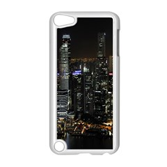 City At Night Lights Skyline Apple iPod Touch 5 Case (White)