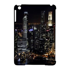 City At Night Lights Skyline Apple iPad Mini Hardshell Case (Compatible with Smart Cover)