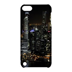 City At Night Lights Skyline Apple iPod Touch 5 Hardshell Case with Stand