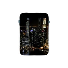 City At Night Lights Skyline Apple iPad Mini Protective Soft Cases