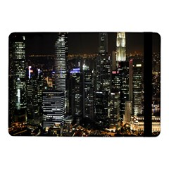 City At Night Lights Skyline Samsung Galaxy Tab Pro 10.1  Flip Case