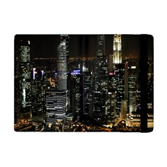 City At Night Lights Skyline iPad Mini 2 Flip Cases
