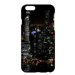 City At Night Lights Skyline Apple Iphone 6 Plus/6s Plus Hardshell Case