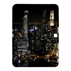 City At Night Lights Skyline Samsung Galaxy Tab 4 (10.1 ) Hardshell Case