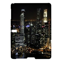 City At Night Lights Skyline Samsung Galaxy Tab S (10.5 ) Hardshell Case