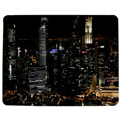 City At Night Lights Skyline Jigsaw Puzzle Photo Stand (Rectangular)