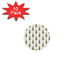 Christmas Tree 1  Mini Buttons (10 pack)