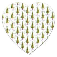 Christmas Tree Jigsaw Puzzle (Heart)