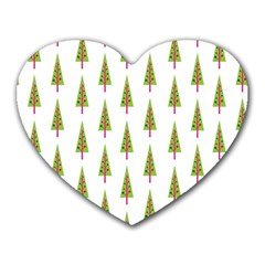 Christmas Tree Heart Mousepads