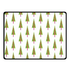 Christmas Tree Fleece Blanket (Small)